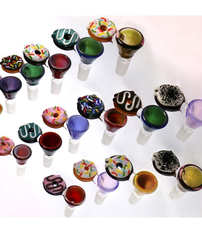 Jam Bear Glass Jam Bear Glass Donut Bowl 14mm