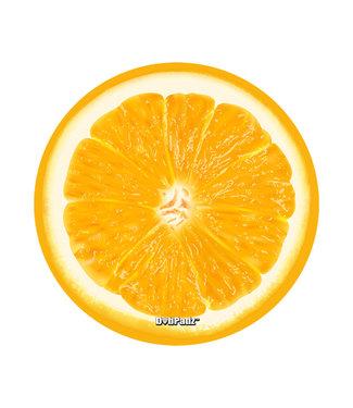 "DabPadz DabPadz 5"" Round Fabric Top 1/4"" Thick - Orange"