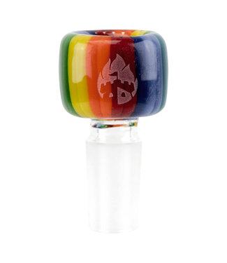 Empire Glassworks Empire Glassworks 14mm Rainbow Bowl