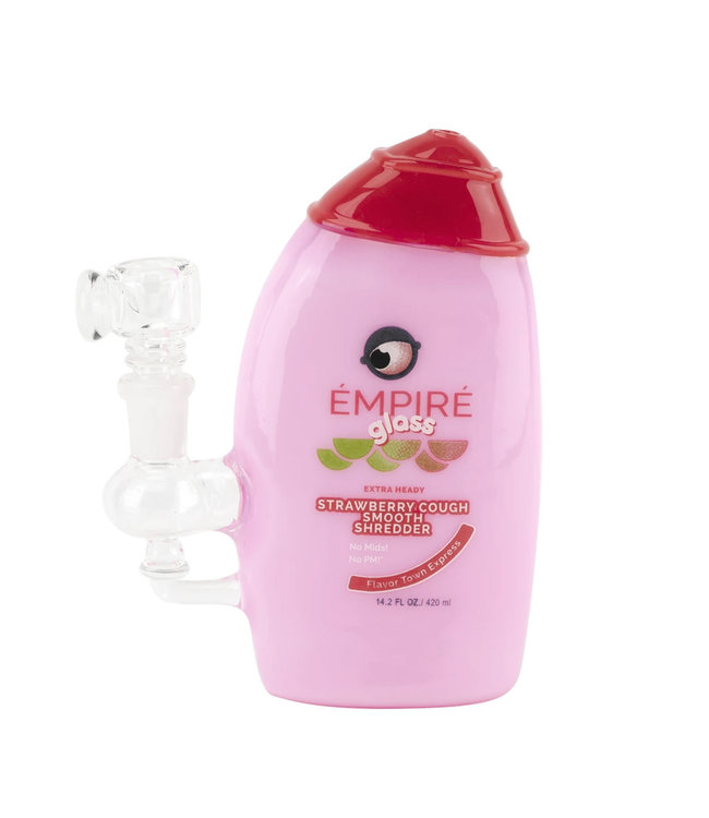 Empire Glassworks Empire Glassworks Strawberry Cough Smooth Shredder Rig