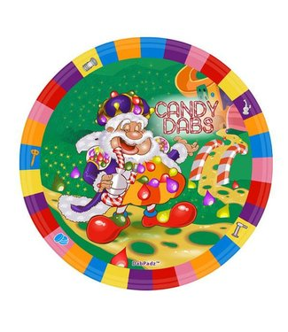 "DabPadz DabPadz 8"" Round Candy Dabs Fabric Top 1/4"" Thick"