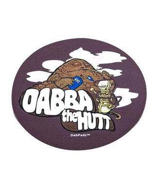 """DabPadz DabPadz 8"""" Round Dabba the Hut Fabric Top 1/4"""" Thick"""
