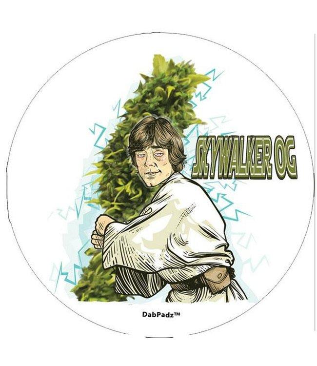"DabPadz DabPadz 8"" Round Skywalker OG Fabric Top 1/4"" Thick"
