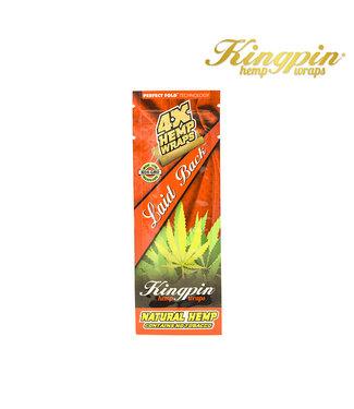 Kingpin King Pin Hemp Wraps 4-Pack Laid Back