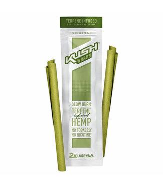 Kush Kush Wraps w/ Terpenes 2-Pack Original