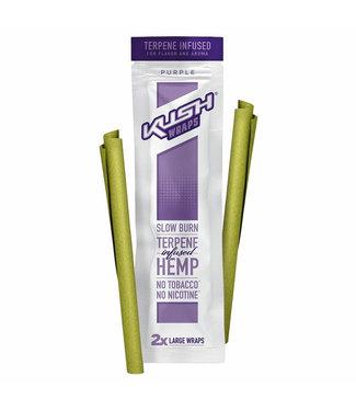 Kush Kush Wraps w/ Terpenes 2-Pack Purple