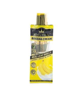 King Palm King Palm Mini Banana Cream Pre-Roll Pouch 2-Pack