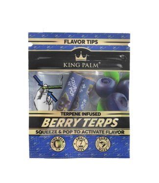King Palm King Palm Terp Filters Berry Terps 2-Pack