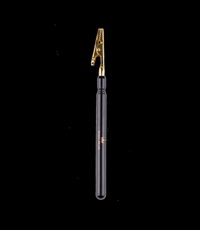 King Palm King Palm Extendable Smoke / Roach Clip Gold
