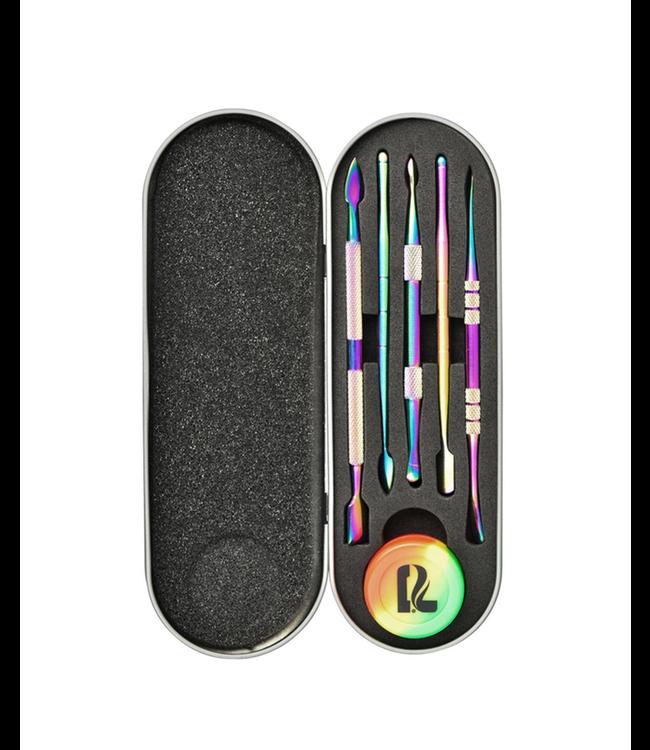 Pulsar Pulsar 6-Piece Dab Tool Kit w/ Case Rainbow