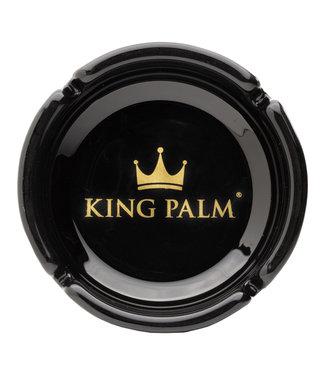 King Palm King Palm Ashtray Black w/ Gold Logo