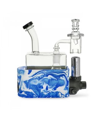 Stache Products Stache RIO (Rig-In-One) Dab Rig Kit Blue