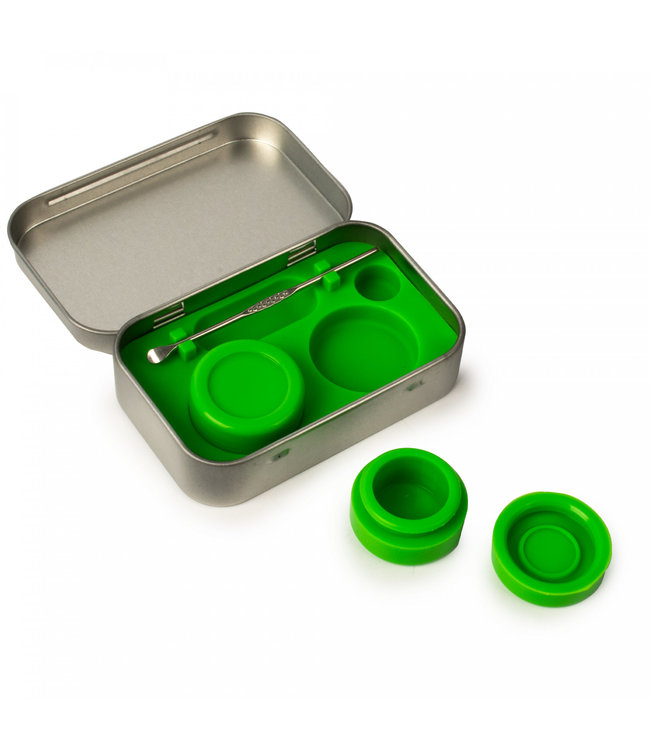 LIT Silicone LIT Silicone Concentrate Storage Kit Green