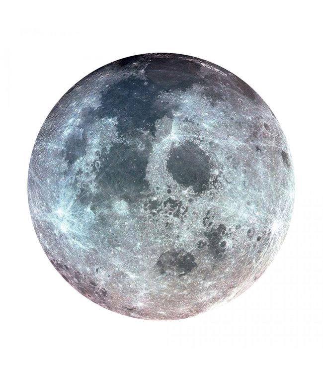 "My Dab Mat My Dab Mat 11"" Silicone Glow-in-the-Dark Moon"