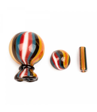 GEAR Premium GEAR Premium Money Bag Terp Slurper Heat Bead & Cap Set Assorted Colours