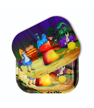 V Syndicate V Syndicate Roll N Go 3D Tray w/ Cover Alice Mushroom Small
