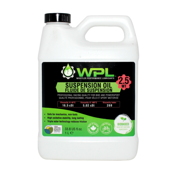 Whistler Performance (WPL) WPL Shock Boost Suspension Oil 2.5Wt