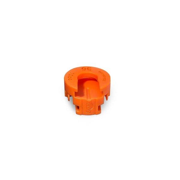 Volume Spacer, 10cc, Orange, 36mm Float NA2