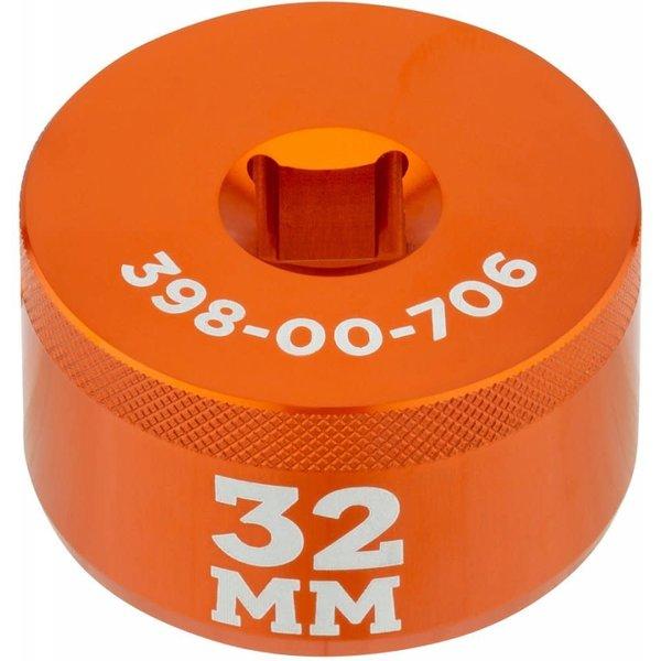 "Fox Shox Fork Top Cap Socket, 3/8"" Drive, 32mm"