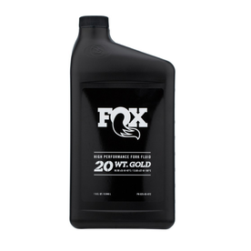 Fox Racing Shox Fox Suspension Oil 20wt Gold [1qt]