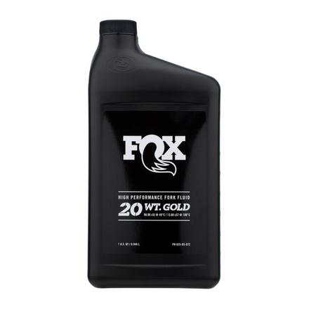 Fox Racing Shox Fox Suspension Oil 20wt Gold [1qt]