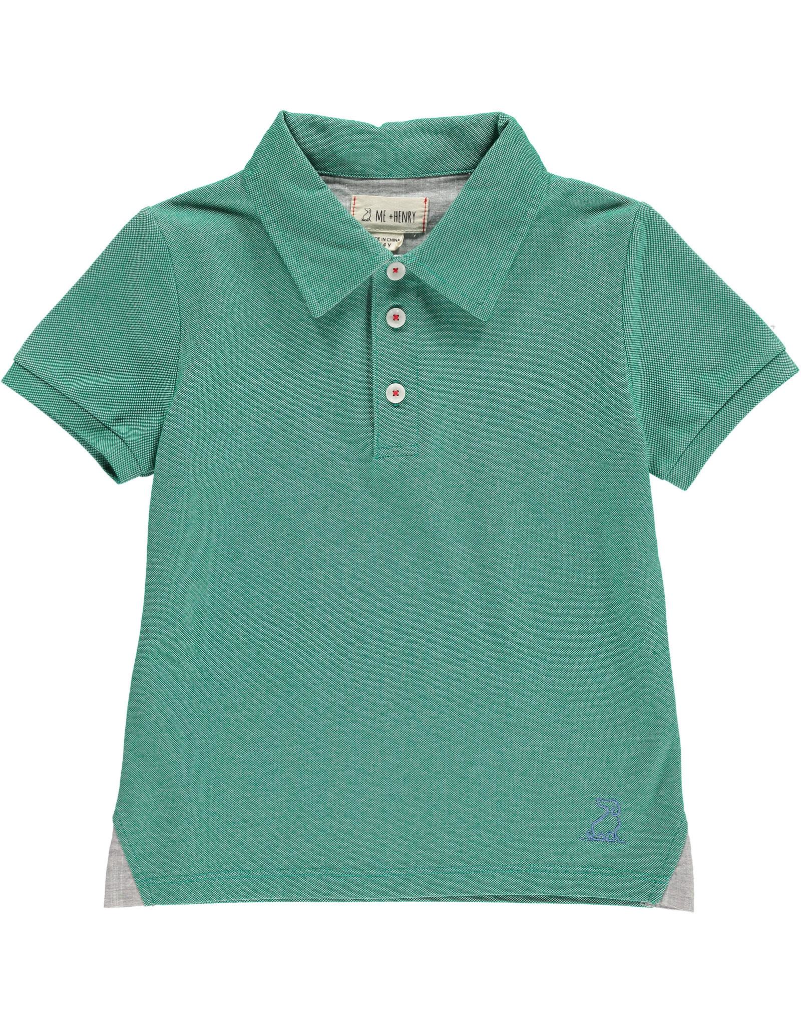 Green Pique Polo - BB