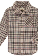 Beige plaid shirt