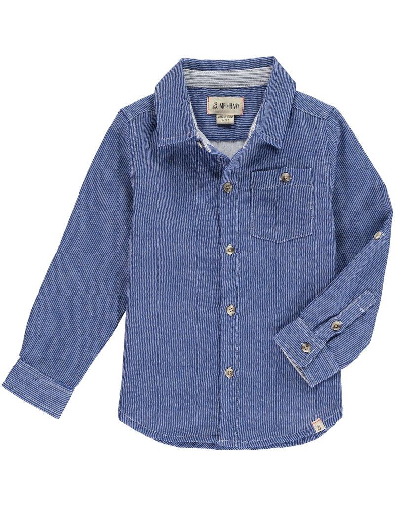Blue stripe shirt