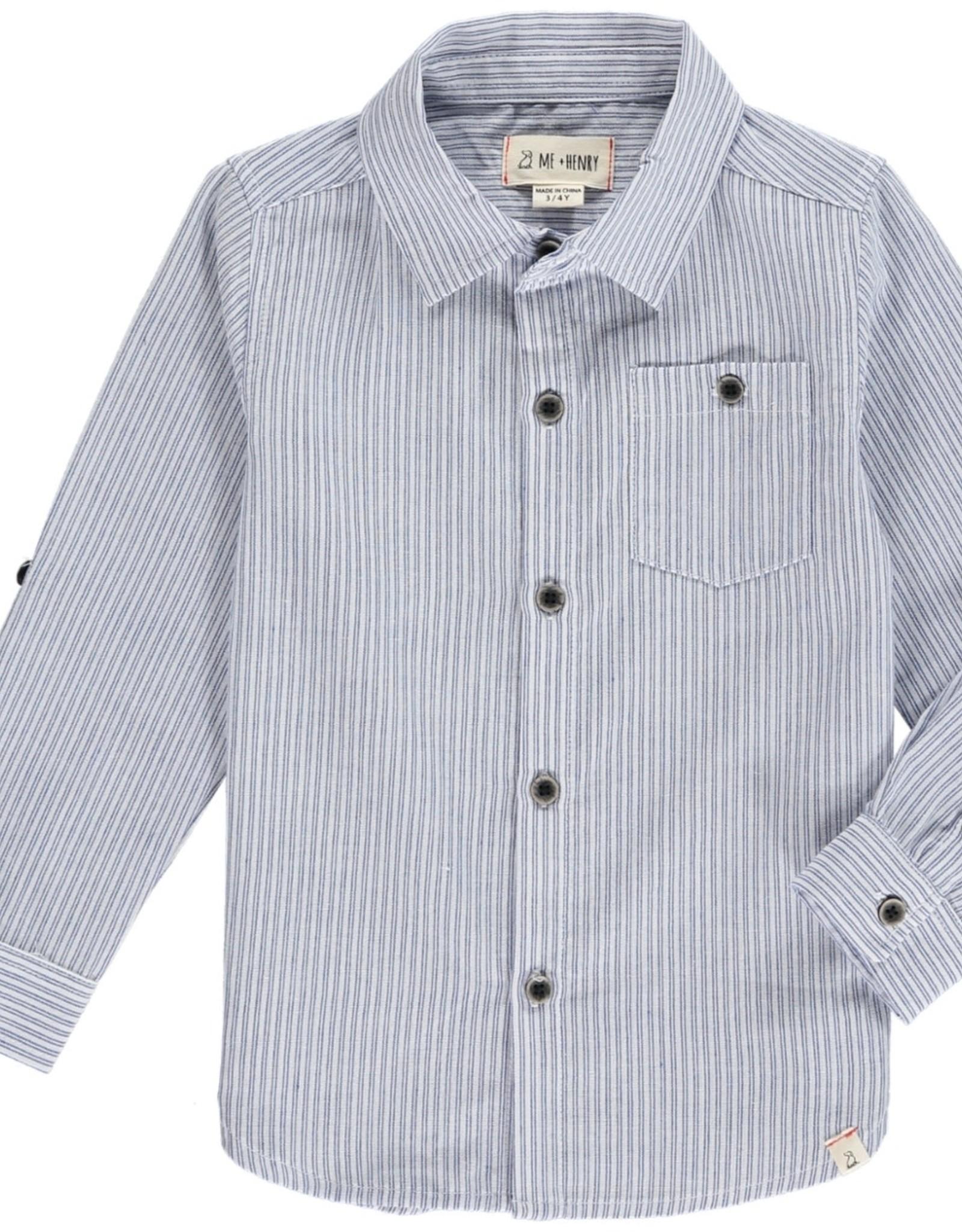 Blue/White stripe shirt