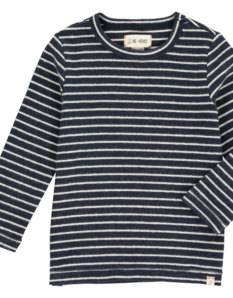 Navy stripe tee