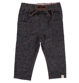Navy/Brown woven pants