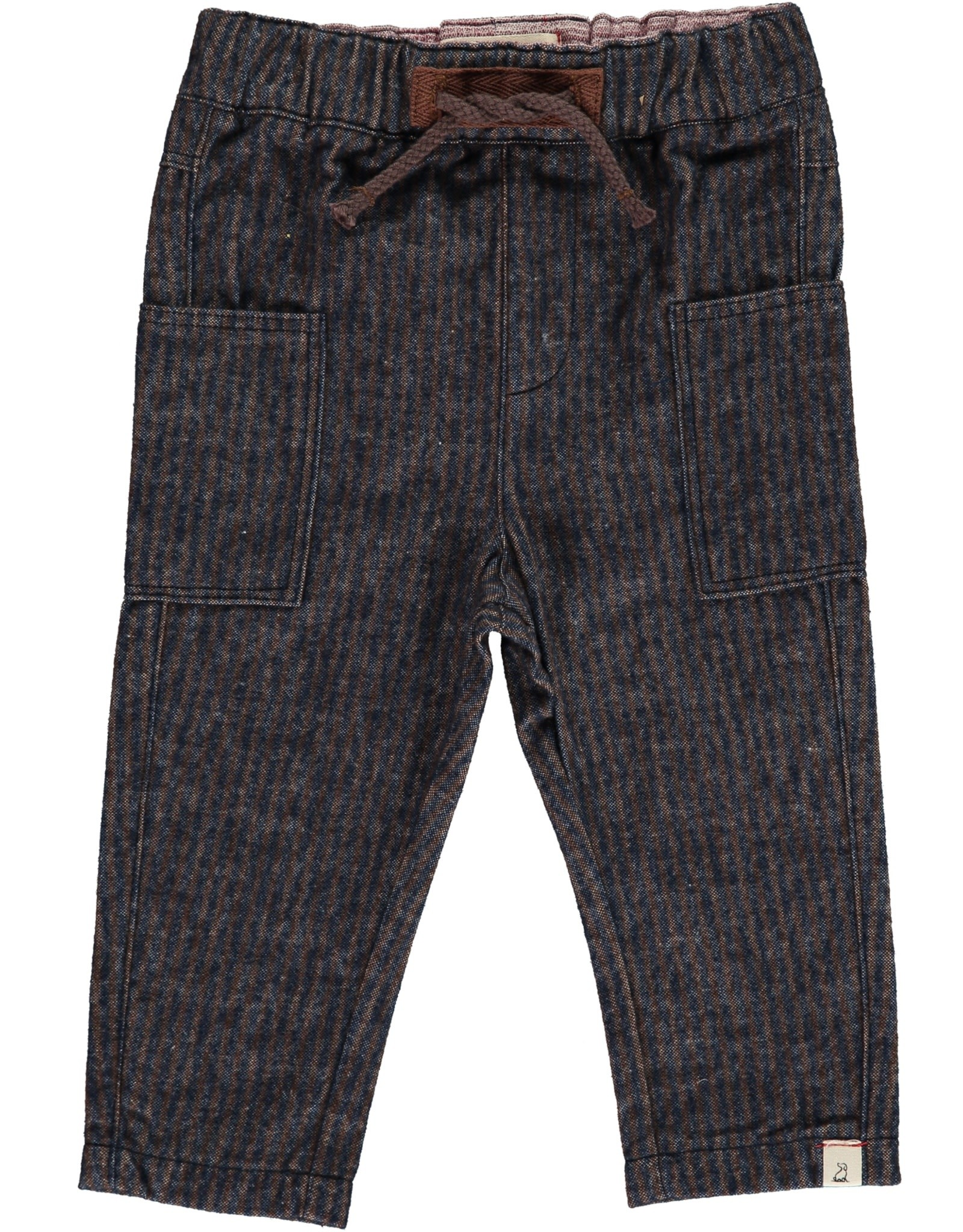 Navy/Brown woven pants