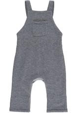 Navy sweat overalls
