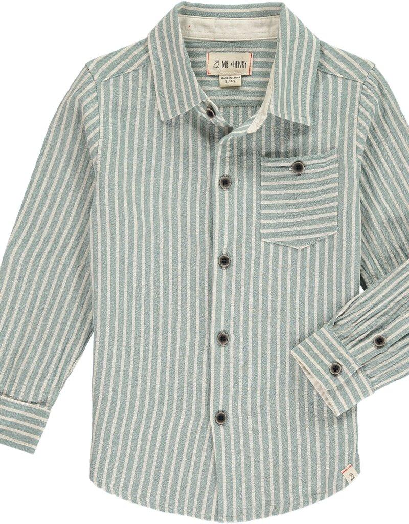 Green stripe shirt