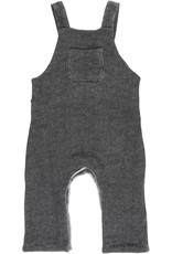 Black sweat overalls