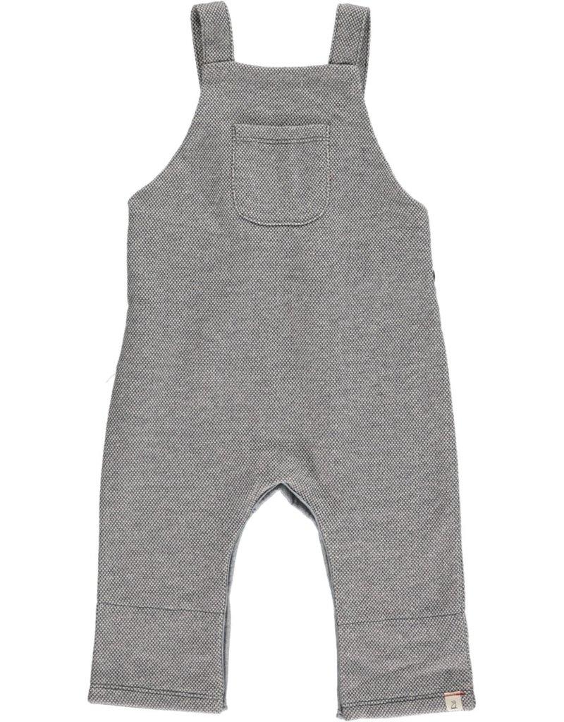 Grey sweat overalls