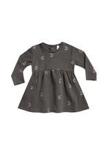 Fleece Dress - coal