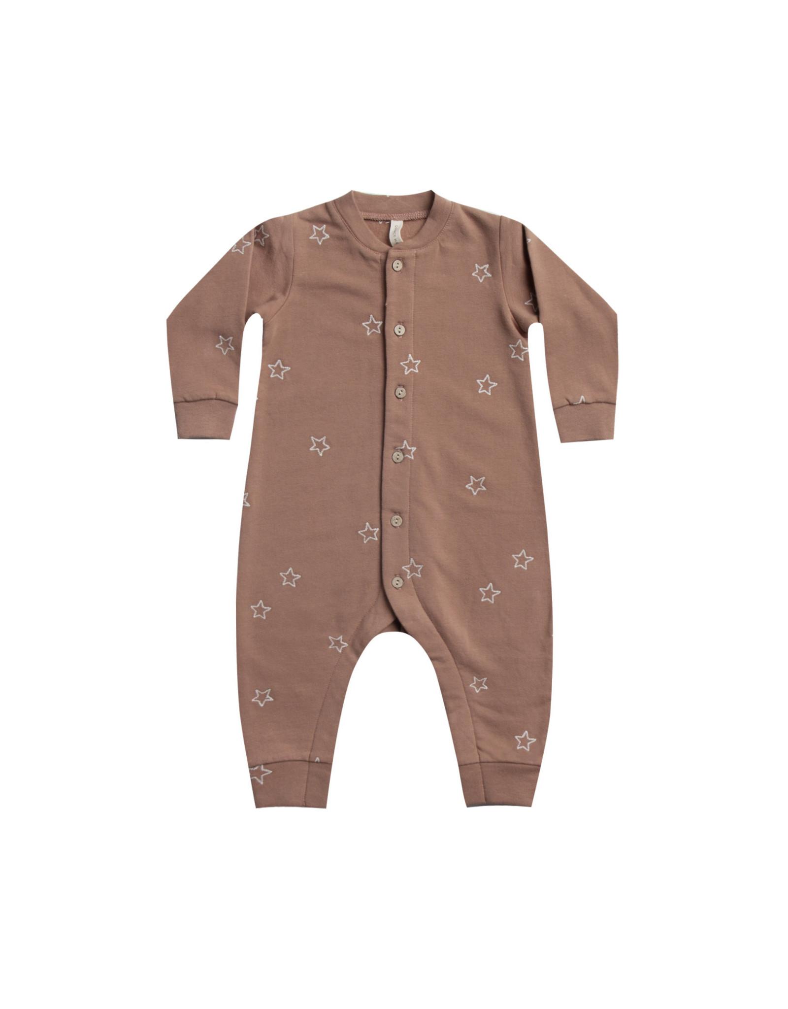 Fleece Jumpsuit - clay
