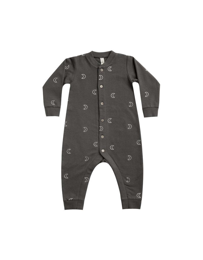 Fleece Jumpsuit - coal