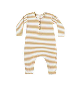 Longsleeve Jumpsuit - honey stripe