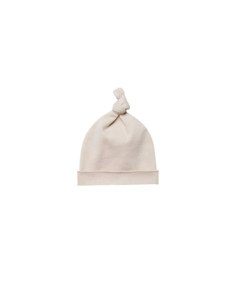 Knotted Baby Hat - rose