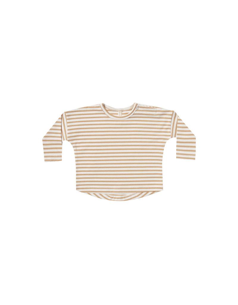Longsleeve Baby Tee - honey stripe