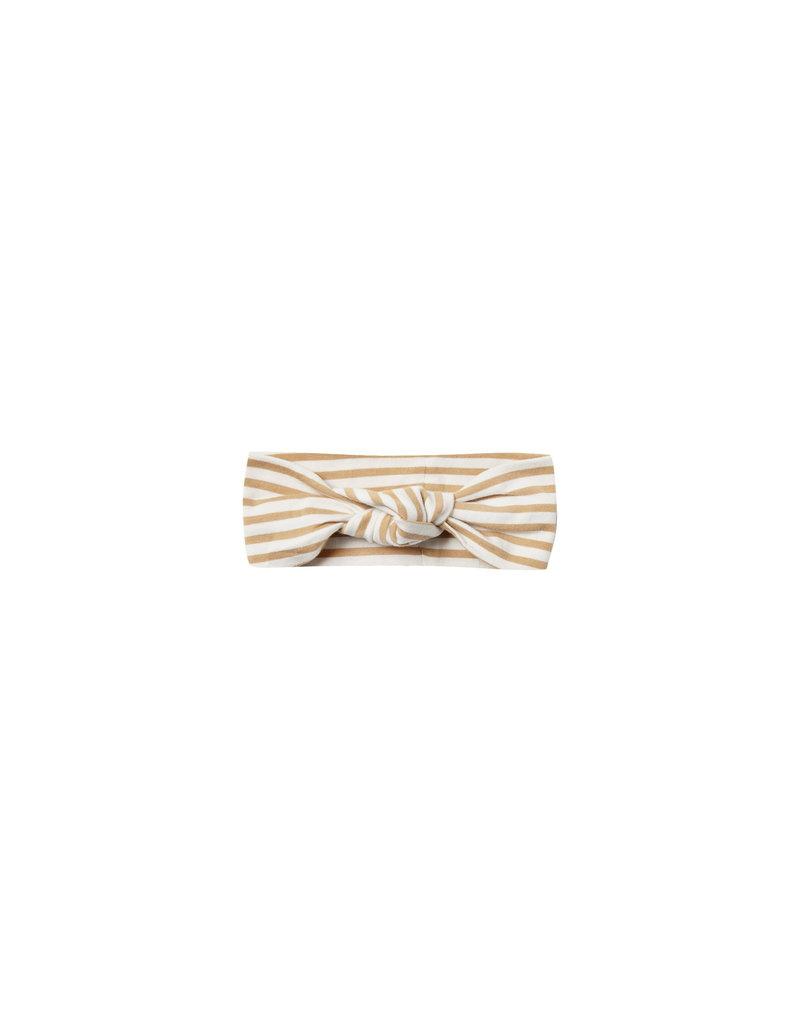 Baby Turban - honey stripe