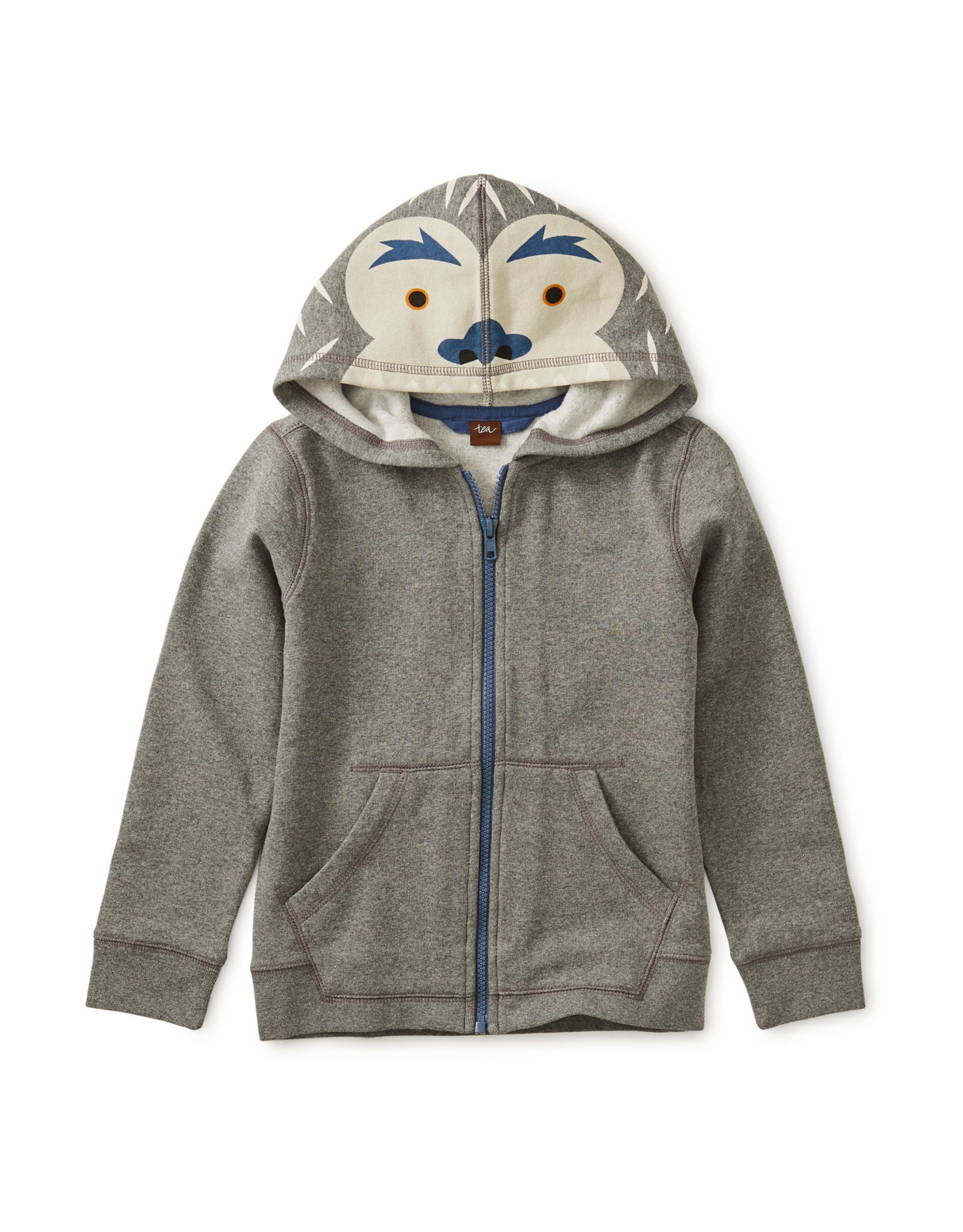 Yeti Zip Hoodie - Dark Grey Heather