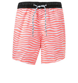 ORANGE STRIPE BOARD SHORT