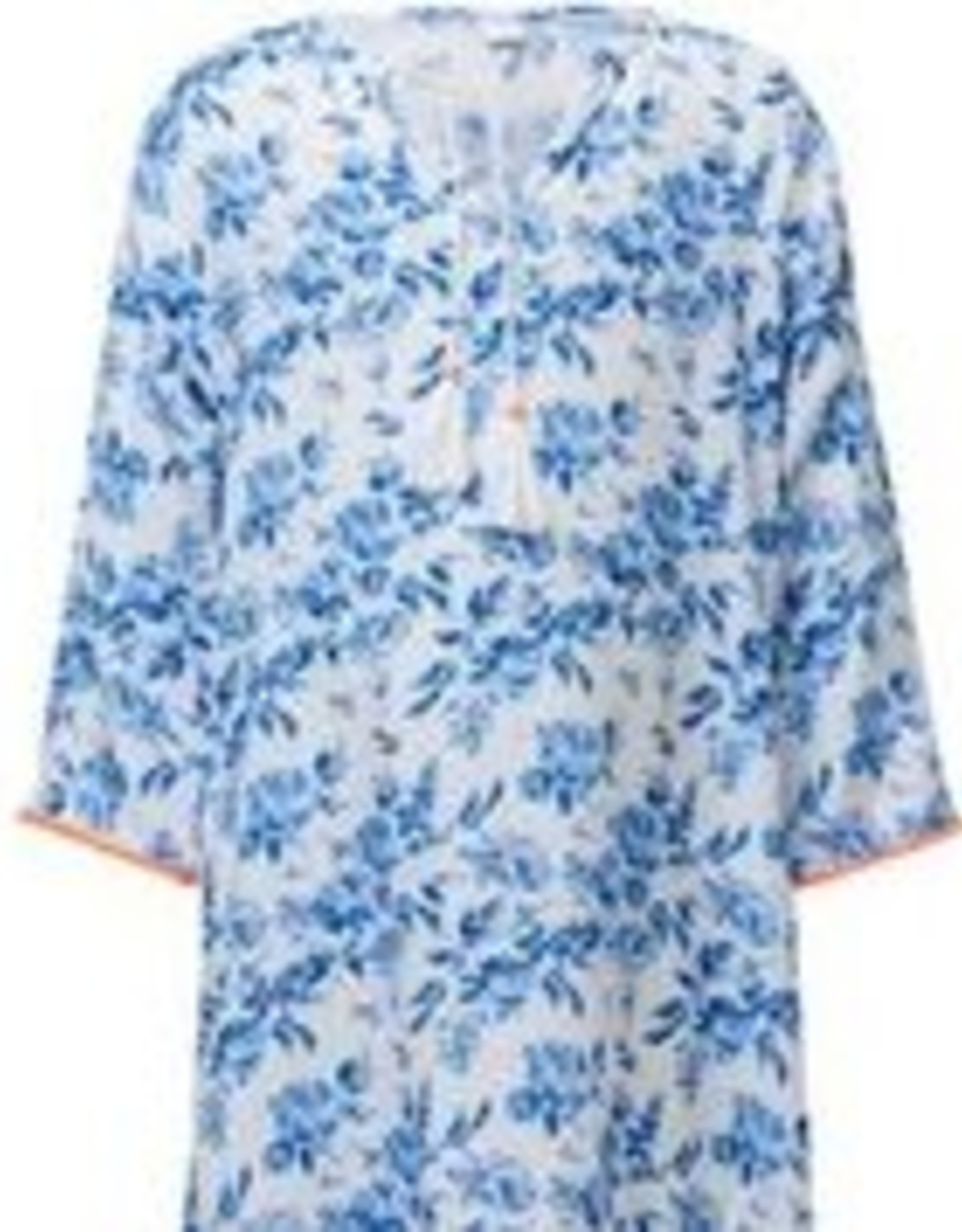 NEON FLORAL COVER UP