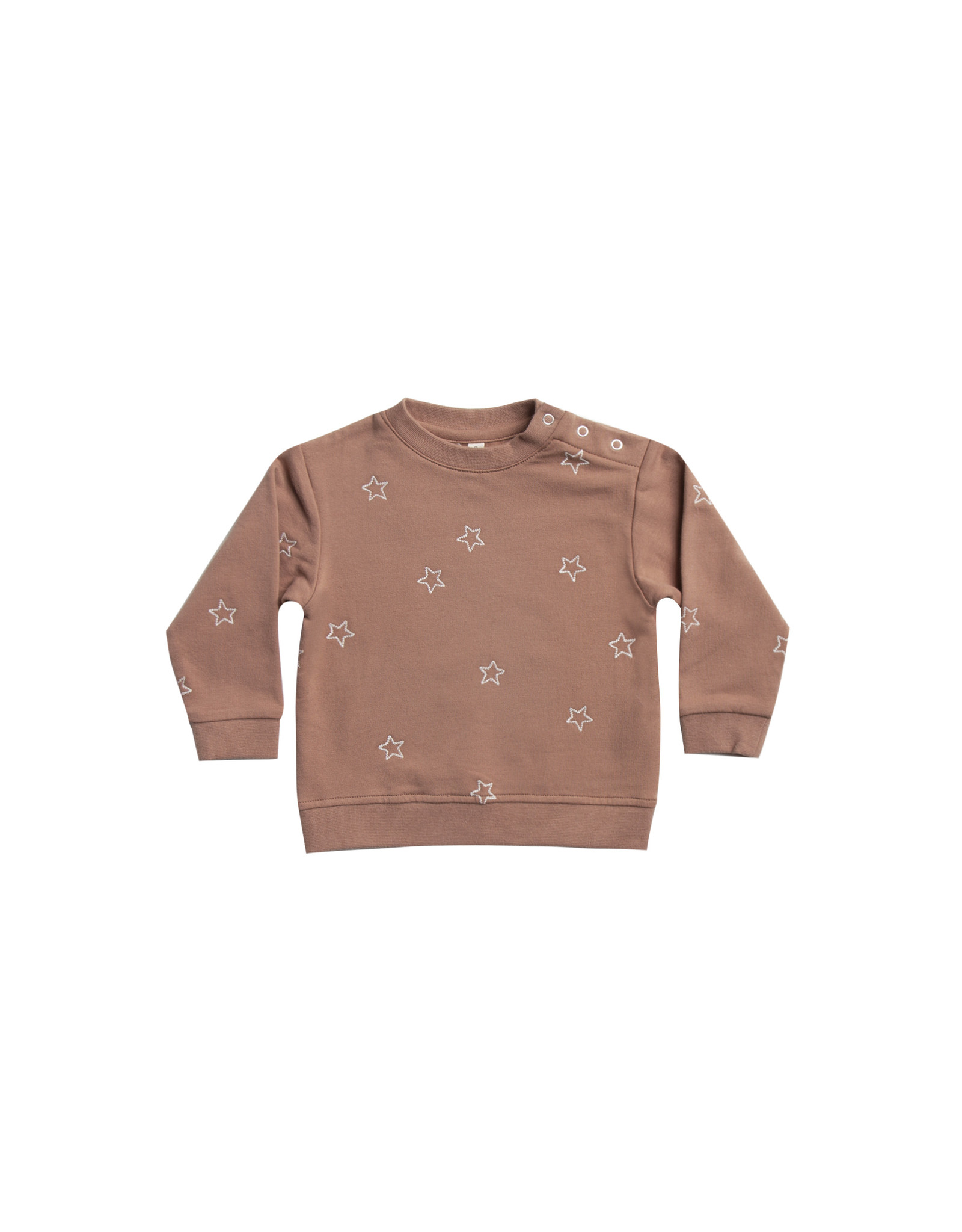 Fleece Basic Sweatshirt - clay