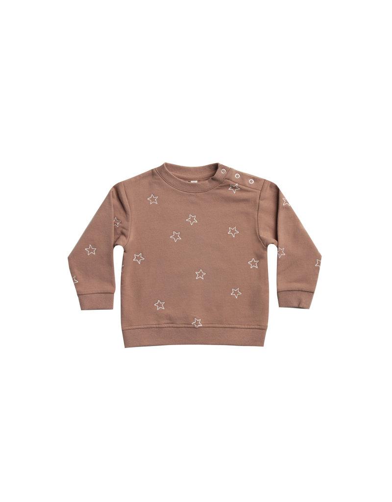 Fleece Basic Sweatshirt - clay