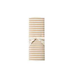 Baby Swaddle - honey stripe