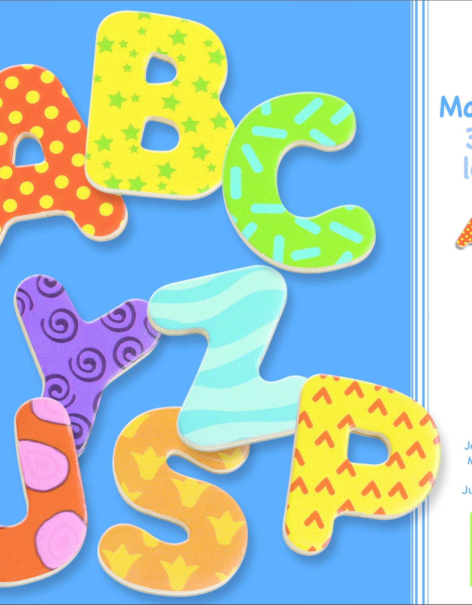 Wooden Magnetics 38 Big Letter
